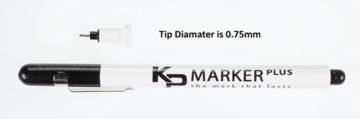 KP Marker Pen Tip Dimensions