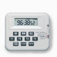 Pocket Timer 4 Channel with Clock